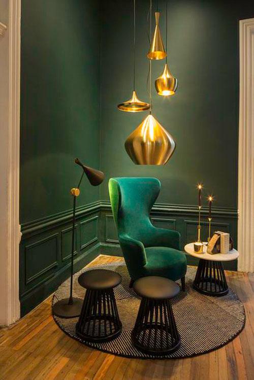 ZAZ Amsterdam project stoel groen